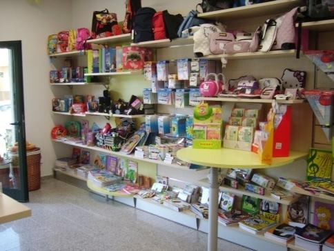 Arredamento per cartoibreria e libreria olbia nuoro for Negozi arredamento cagliari