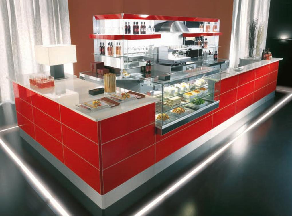 Arredamento per bar pasticcerie e food in sardegna olbia for Arredamento bar